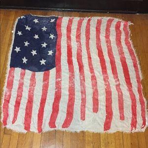 Aeropostale Accessories - Aeropostale American Flag Stars Stripes Scarf